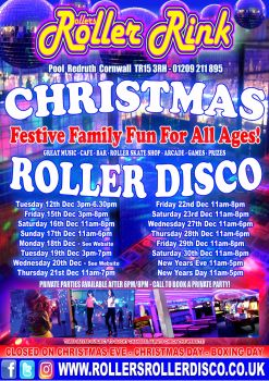 Christmas 2017 at Rollers Roller Rink Cornwall 1