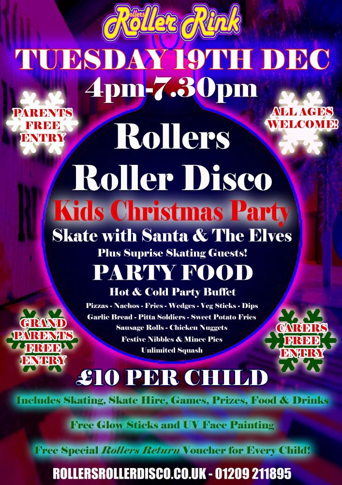Christmas Party Kids Tuesday 19th December 2017