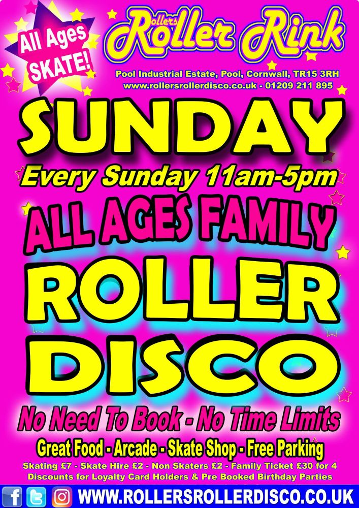 Sunday Roller Disco 2018