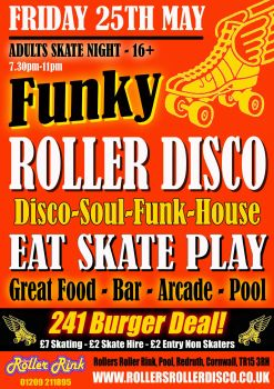 Funky Roller Disco Friday 25th May