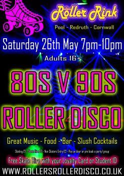 Adults Skate Night Saturday 26th May