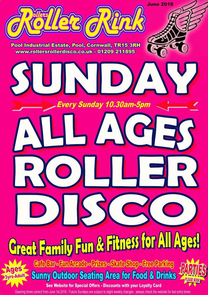 Sunday Roller Discos June 2018