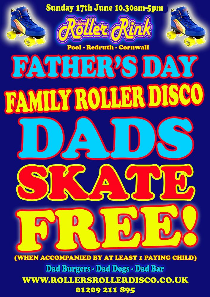 Fathers Day Free Skate 2018