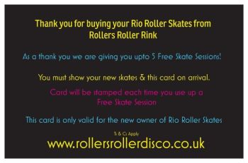 Rio Free Skate rear