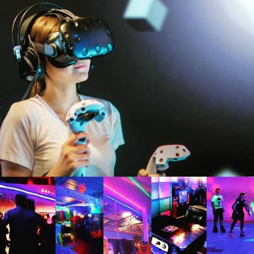 VR at Rollers Roller Rink Cornwall 2018