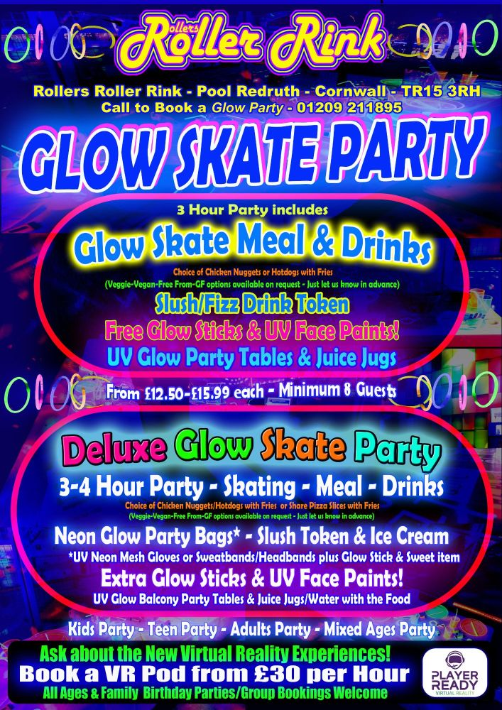Roller Disco Glow Neon Party