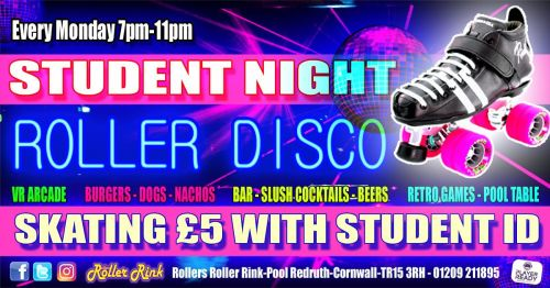 Student Night Every Monday in September 2018