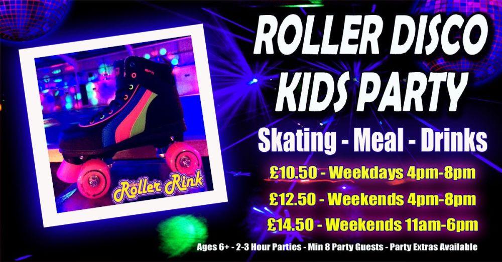 Roller Disco Kids Party Autumn Winter 2018