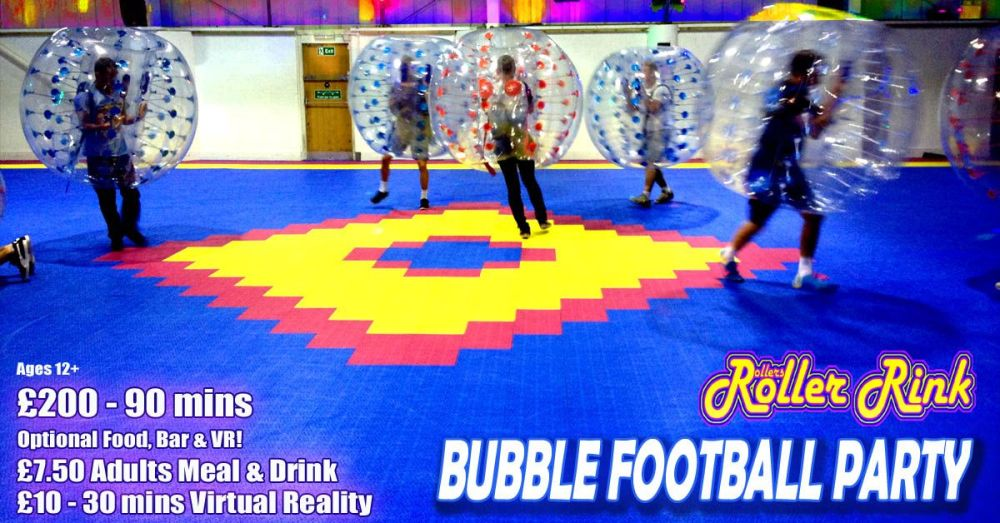 Bubble Football Party Autumn 2018