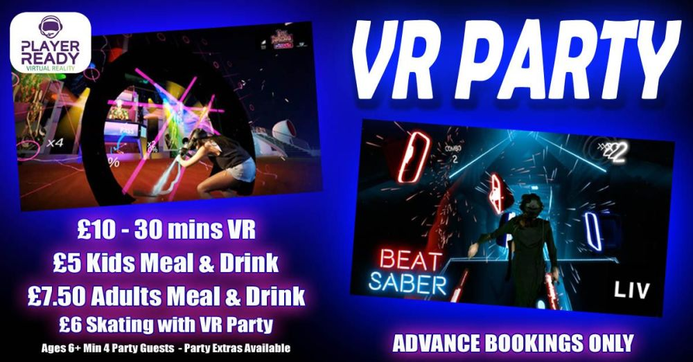 VR Kids Party with options Autumn 2018