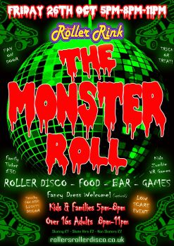 Monster Roll Friday 26th Oct 2018