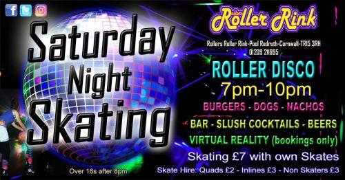 Saturday Night Skating 7pm-10pm