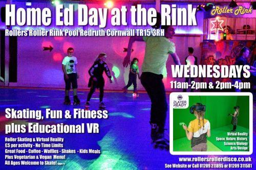 Home Ed Roller Disco & VR Wednesdays