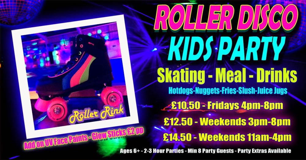 Roller Disco Kids Party Winter 2018