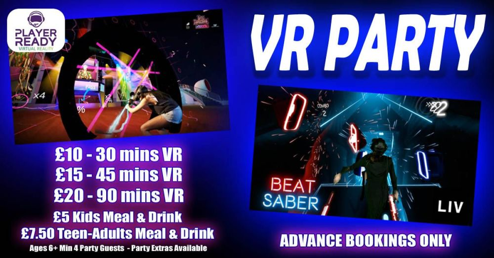VR Kids Party with options Winter 2018