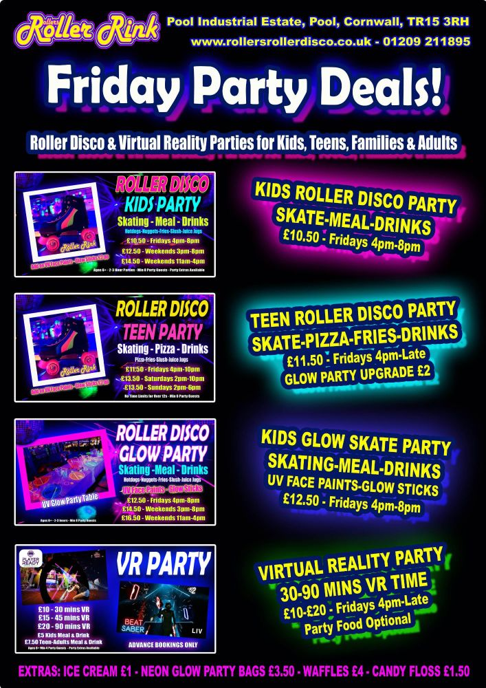 Friday Party Deals Winter 2018 23