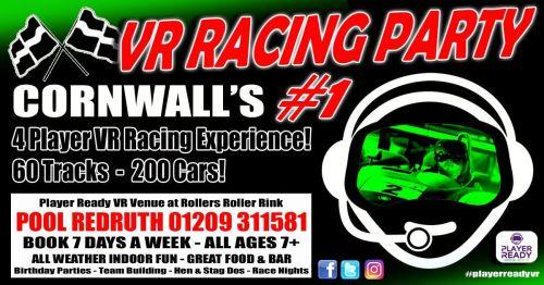 VR Racing Party Cornwalls Number 1