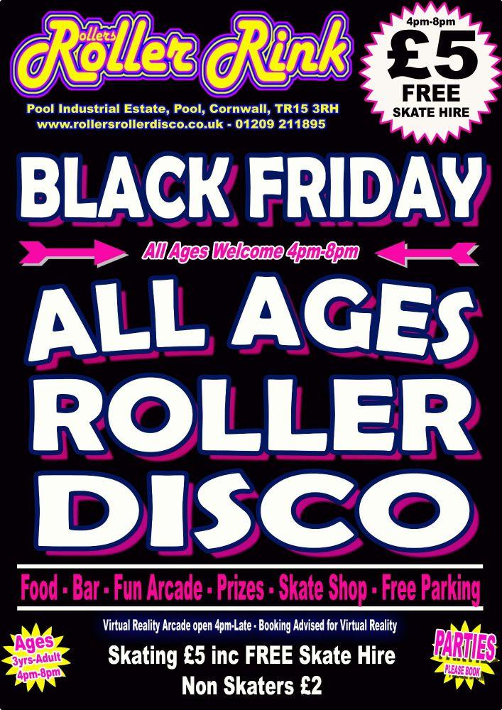 Black Friday Roller Disco Nov 2018