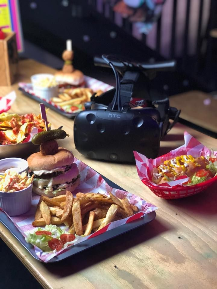 Vegan Food and Virtual Reality Games Cornwall