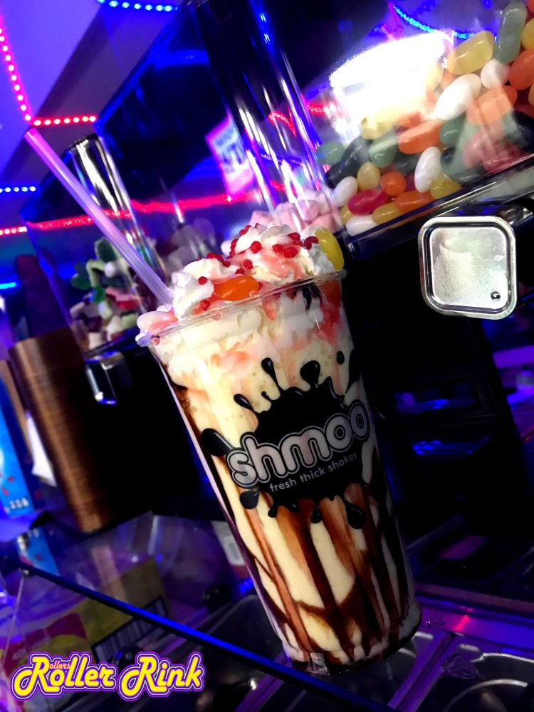 Roller Disco Shakes at the Roller Rink Cornwall