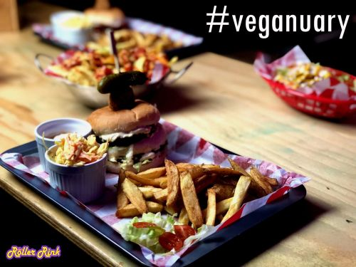 Veganuary Specials at the Roller Rink Cornwall