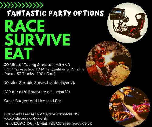 Racing & Zombie Parties