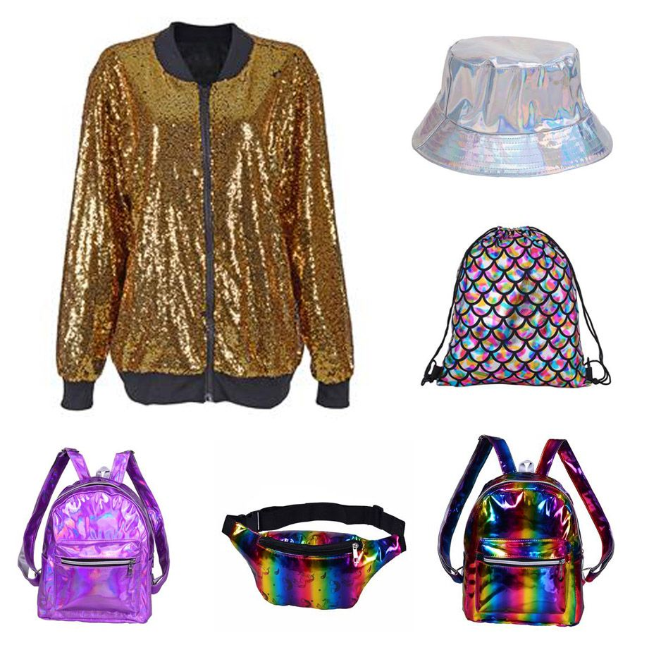 High Shine Disco Glitter Wear