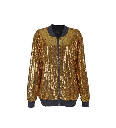 Sequin High Shine Gold Jacket - Various Sizes