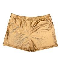 Men's Hot Pants - Gold - One Size