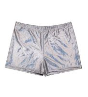 Men's Hot Pants - Silver - One Size