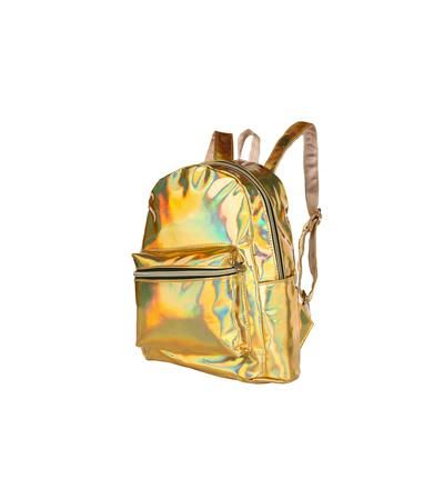 Holographic Backpack - Gold