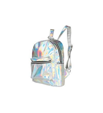 Holographic Backpack - Silver