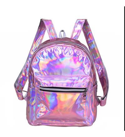 Holographic Backpack - Pink