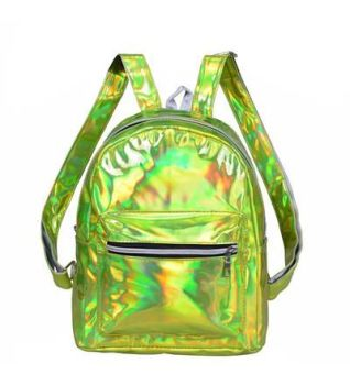 Holographic Backpack - Green