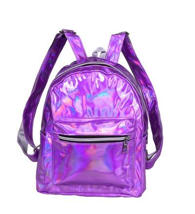 Holographic Backpack - Purple