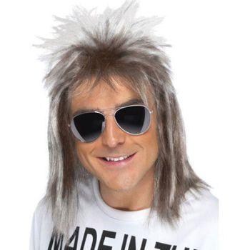 1980's Celebrity Mullet Wig