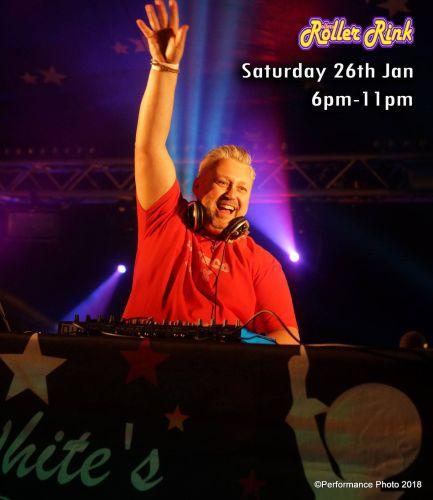 DJ David White Boogie Wonderland at the Rink Saturday 26th Jan 2019