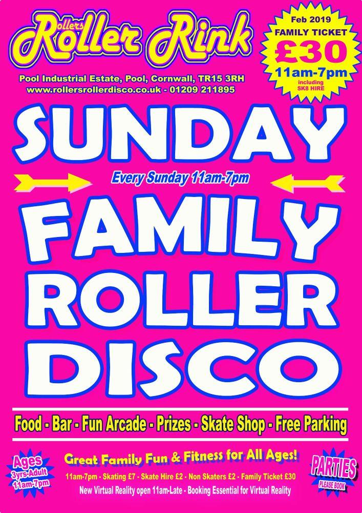 Sunday Roller Discos Feb 2019