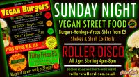 Vegan Street Food Night Feb 10th 2019