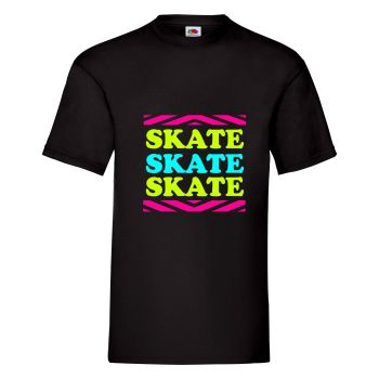 Skate Skate Skate Mens Unisex T Shirt - Any Colour - Any Size S-XXXL
