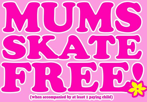 Mums Skate Free Mothers Day Cornwall Roller Disco 2019