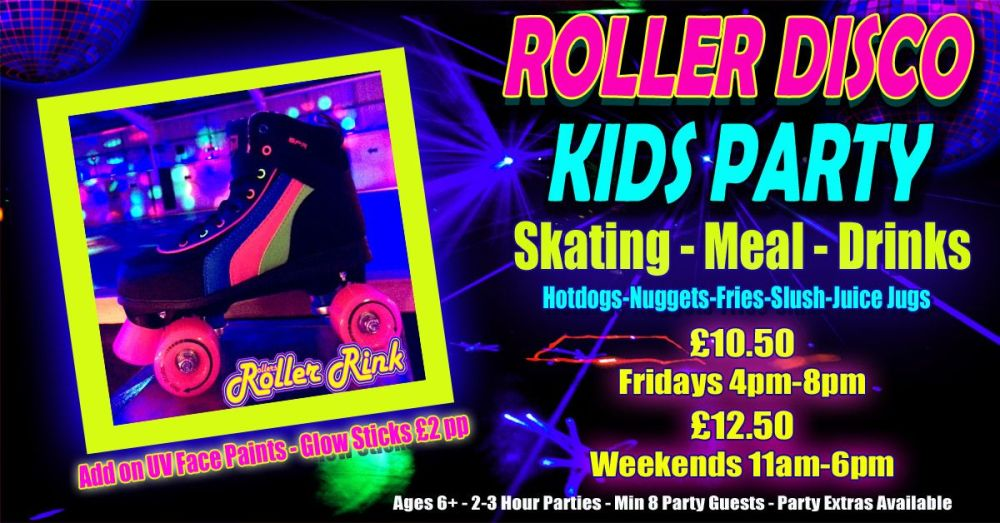 Roller Disco Kids Party Summer 2019