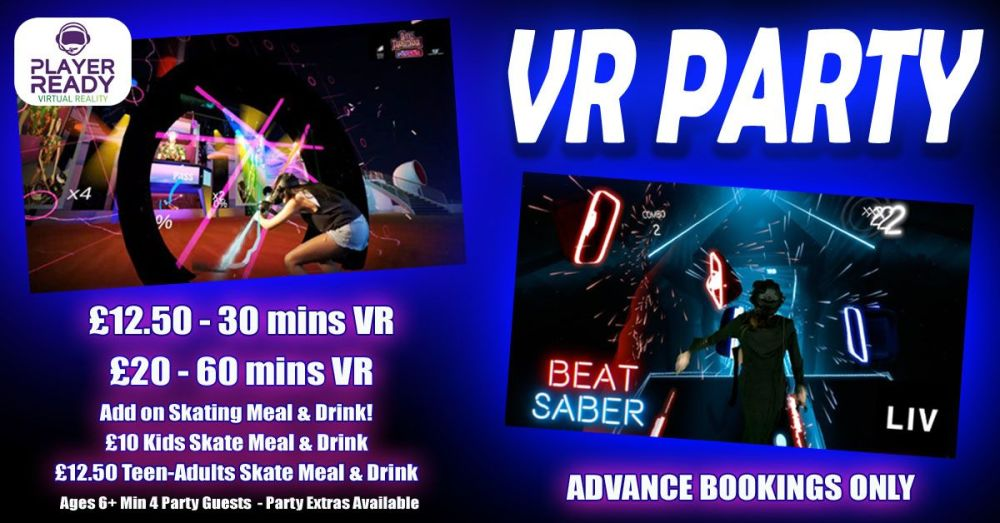 VR Kids Party with options Summer 2019