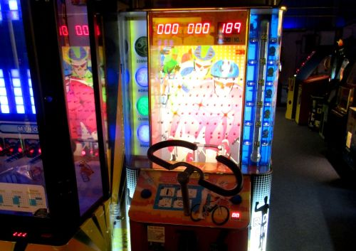 Arcade Crazy BIke