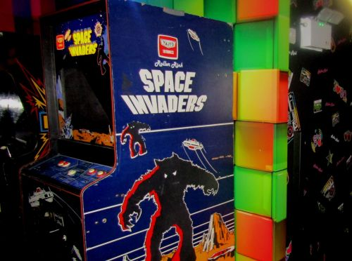 Space Invaders at Rollers Roller Rink Cornwall
