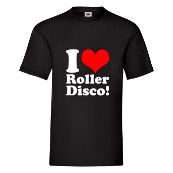 Kids I Love Roller Disco T Shirt