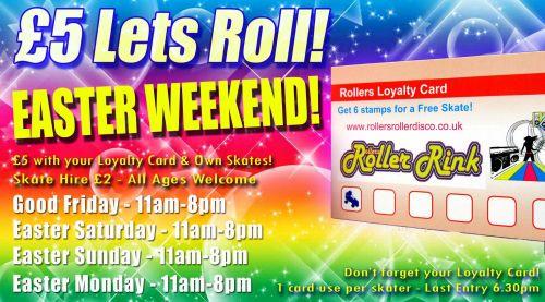 Easter Weekend Loyalty Card Deal