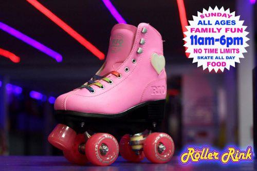Family Fun Roller Disco Sunday 11am-6pm
