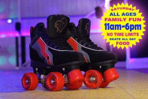 Family Fun Roller Disco 11am-6pm