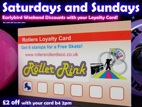 Loyalty Card Discount Weekend August 2019